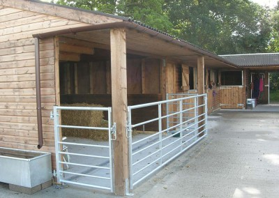 Stable Yard with other purpose made buildings built into the complex, please ask for more details.