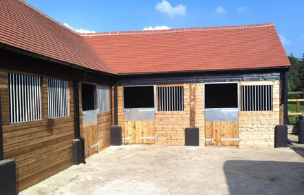 A challenging installation where all existing surfaces were irregular within this refurbished 200 year old barn. Built on site the end product proved very pleasing.
