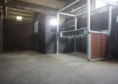 Stocks room at the impressive Treetops Stud, who specialise in foaling, insemination and embryo transfer for resident and visiting mares. On the Kent and Sussex border.