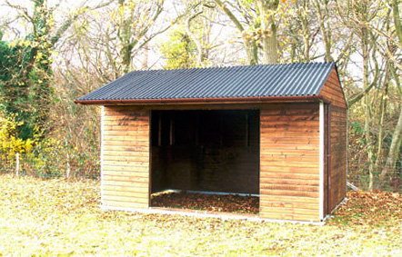 4.8m x 3.3m Mobile Field Shelter